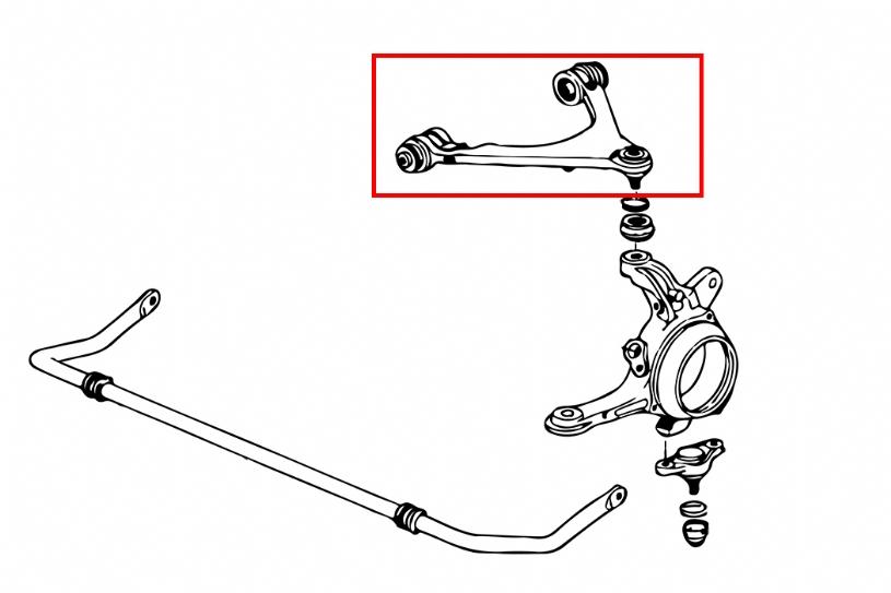 subaru control arm bushing replacement