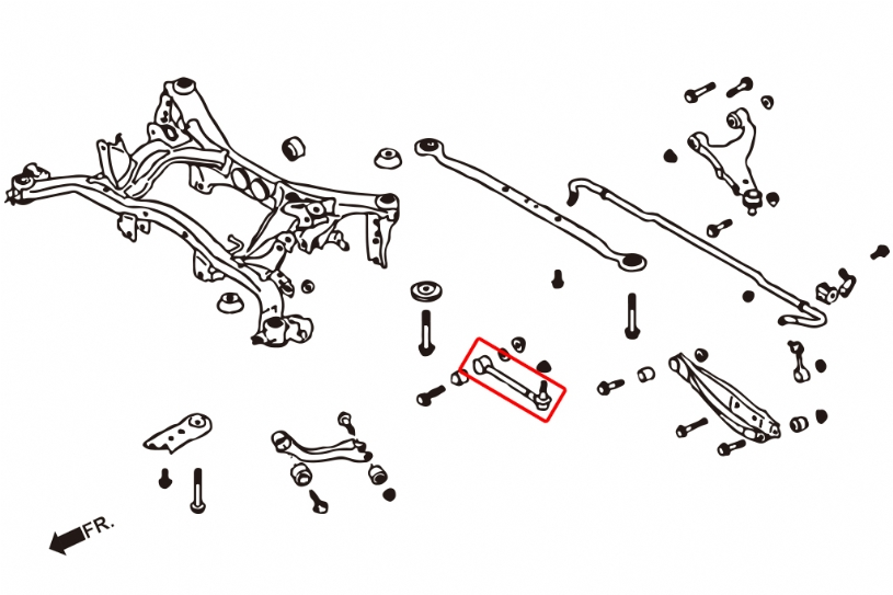 Product_detail on 2011 Subaru Wrx Front Control Arms