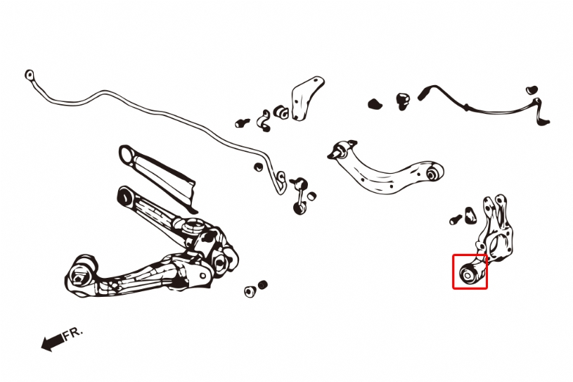 Steering Knuckle Diagram further 2001 Honda Prelude Removing Steering Knuckle likewise Adam E2 80 99s Service Tip 3a Strange Noises moreover Index likewise 98 Honda Accord Rear Trailing Arm Bushing. on honda civic ball joint replacement