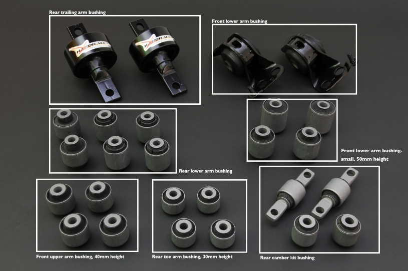 6107-DC2 - ARM BUSHINGS COMPLETED SET